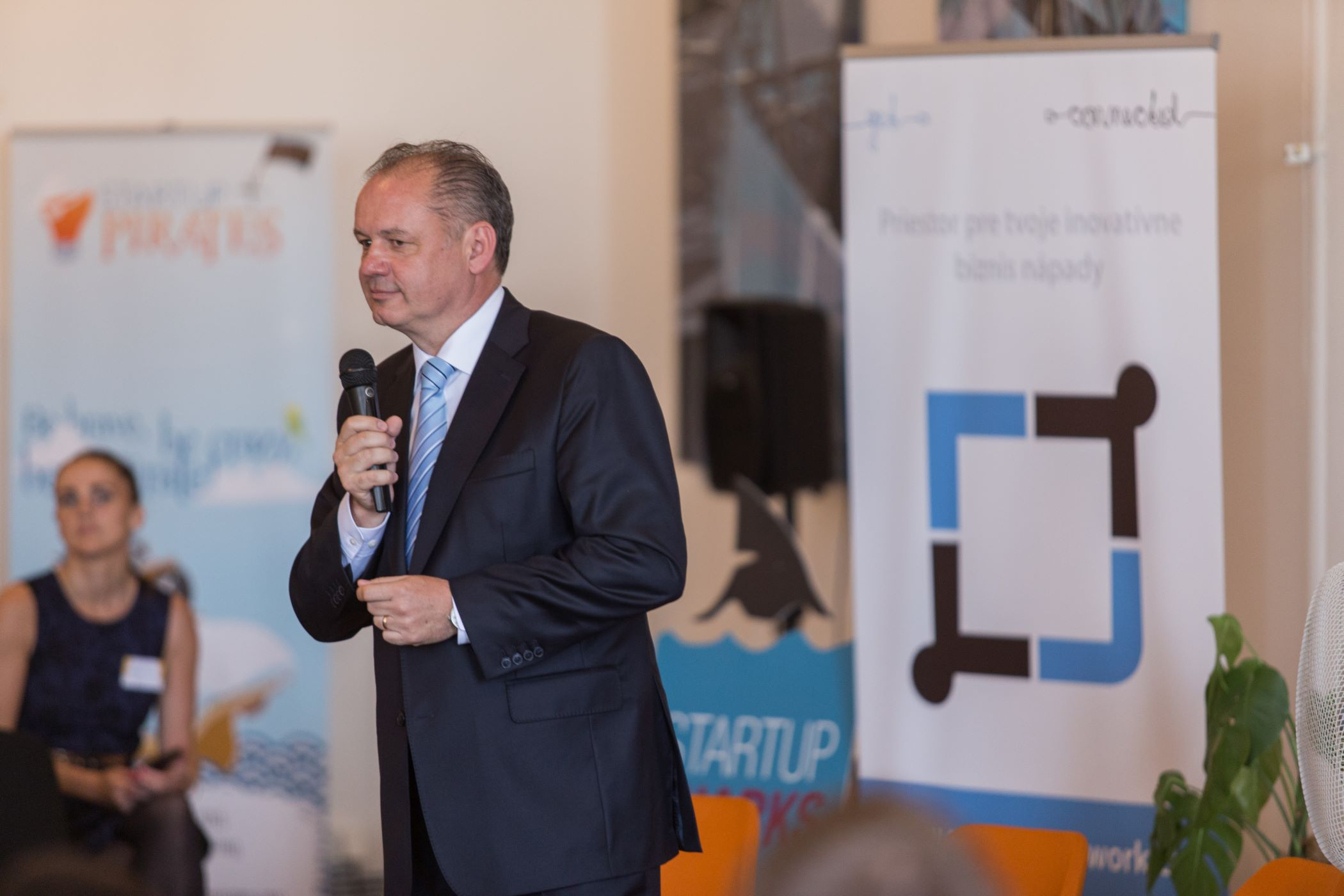 Startupistov podporil aj prezident A.Kiska – STARTUP FACTORY SLOVAKIA