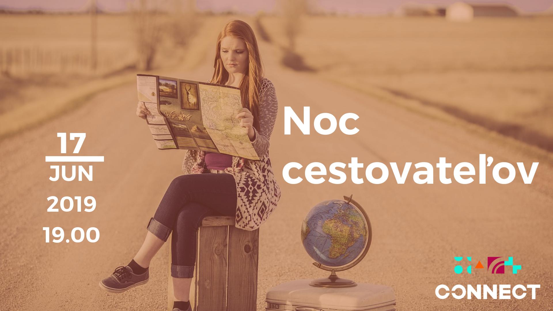 Noc cestovateľov – Jún 2019 – videozáznam