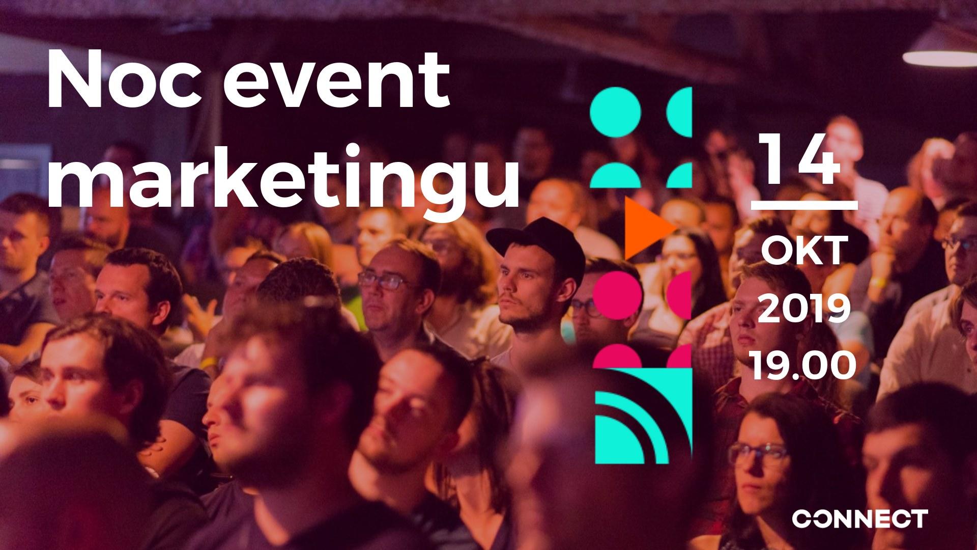 Noc event marketingu – Október 2019